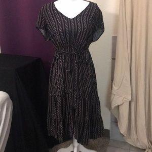 Size 1X Torrid Midi Dress
